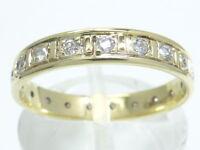 Memory Goldring Ring 585 GOLD 14 Karat bague or Brillant Diamant diamond anello