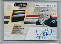 CONNOR HELLEBUYCK 57/100 19/20 SP AUTHENTIC LIMITED AUTO MATERIALS 5 COLOR PATCH