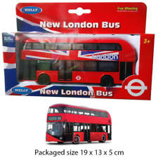 More details for dc pull back new london bus double-decker tour city buses