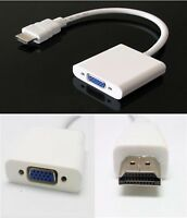 Hdmi to VGA Cable Adapter for Pc Laptop Power-free, Raspberry Pi, MHL Support W