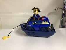"Paw Patrol Pirate Ship vehículo con Chase spinmasters 8"" de largo"