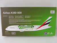 EMIRATES EXPO 2020 GREEN Airbus A380-800 1/250 Herpa Snap Fit EXCLUSIVE DUBAI