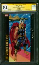 Mighty Thor 16 CGC 2XSS 9.8 Stan Lee Aaron Jusko Variant Avengers New Movie
