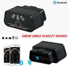 KW903 ELM327 ODB2 Diagnostic Code Scanner Reader Torque Bluetooth for Android BG