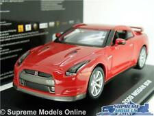NISSAN GT-R MODEL CAR 1:32 SCALE RED 2009 BURAGO SPORTS COUPE K8