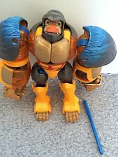 TRANSFORMERS BEAST MACHINES BLAST PUNCH OPTIMUS PRIMAL COMPLETE w/ MANUAL