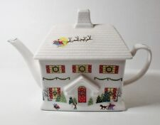 Lenox SLEIGHRIDE 4 Cup Teapot w/Lid MINT w/Original Label