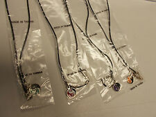 Lot of 4 Yin Yang Pendant Necklaces. 4 colors    ND355