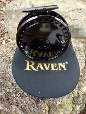 "Raven Matrix Float Reel 4 3/8"" Black, Free Pouch, Great New Black Finish"