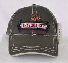 *TRAVERSE CITY MICHIGAN* Bull Moose Ball cap hat *OURAY* embroidered sample
