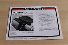 104520) Krauser Motorradkoffer Star Prospekt 198?