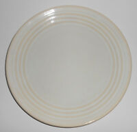 Bauer Pottery Ring Ware WHITE 9-5/8'' Plate