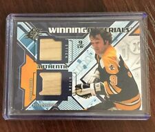 2013-14 Johnny Bucyk SPX Winning Materials Game Used