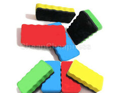 Magnetic Board Rubbers Whiteboard Blackboards Cleaners Dry Marker Eraser Offices