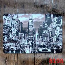 Metal Tin Sign big city street sight Bar Pub Vintage Retro Poster Cafe ART