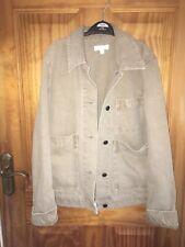 Cos Camel Denim Workwear Chore Jacket Size 32