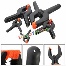 Heavy Plastic Nylon Spring Clamp Clip Tips For Photography Background Black