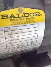 BALDOR * 1/2 HP 230-460 V 2/1 A 3450 RPM 3 PH MOTOR * CM3537