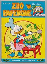 Carl Barks  ZIO PAPERONE  N. 20  Walt Disney Company Italia 1991 originale