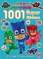 1001 Super Stickers (PJ Masks) by PJ Masks, Pat-a-Cake, Paperback Book, New, FRE