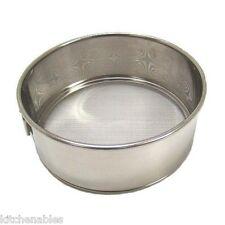 """Scandicrafts Fine Mesh Flour Sifter - Stainless Steel - 4.75"""" Diameter Strainer"""