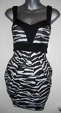 Animal Print Party Jane Norman Short/Mini Dresses