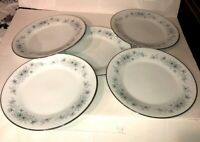 5 PC Noritake Japan China Inverness Set Dinner Plates Great Condition