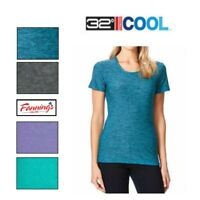 SALE! Women's 32 Degrees Cool Short Sleeve Scoop Neck Tee T Shirt  VARIETY - B42
