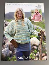 Sirdar Crofter Chunky Knitting Pattern - Sweaters - 61/66 - 112/117cm  (9336)