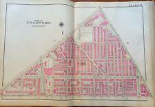 1925 BROMLEY PHILADELPHIA PA GROVER CLEVELAND PUBLIC SCHOOL COPY PLAT ATLAS MAP
