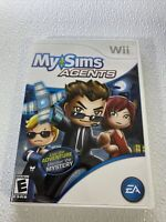 MySims Agents (Nintendo Wii, 2009) Complete With Manual Tested