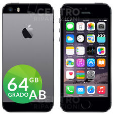 APPLE IPHONE 5S 64GB ORIGINALE GRIGIO SIDERALE SPACE GRAY ACCESSORI E GARANZIA