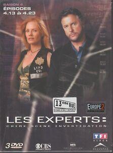 Les Experts Saison 4 Partie 2 Dvd Neuf Episodes 13 à 23