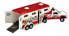 BREYER HORSES Animal Rescue Truck & Trailer RED Stablemates 1:32 Scale 5352