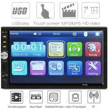 7'' DOUBLE 2DIN Car MP5 Player BT Tou+ch Screen Stereo Radio HD+Camera B1D9 USA