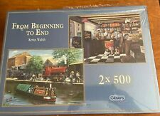 Gibsons Jigsaw Puzzle (2 x 500 Pieces) From Beginning To End Kevin Walsh- NIB