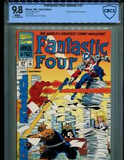 FANTASTIC FOUR ANNUAL 27 CGC 9.8 1ST TIME VARIANCE AUTHORITY! MR. MOBIUS COVER!1