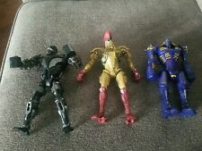 Lot Of 3 Jakks Pacific Real Steel Figures Zeus