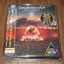 FREE ship! Japan PROMO issue! DAVID GILMOUR Live At Pompeii DELUXE CD Pink Floyd