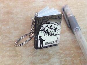 To Kill a Mockingbird keyring Keychain Mini Book
