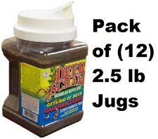 12 ea Enviro 1003 2.5 lb Deer Scram All Natural Organic Granular Repellent