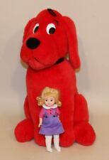 2000 Madame Alexander 8 Inch Doll Emily Elizabeth & Clifford Red Dog 26370 AS IS