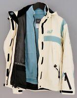 Women Jack Wolfskin Jacket Outdoor Recco Ski Snowboard Waterproof M UK12 XIK122