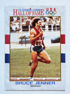 1991 Impel BRUCE ( Caitlyn ) JENNER U. S. Olympic Cards # 33