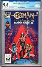 Conan the Barbarian Movie Special #1 CGC 9.6 WP 1982 3802375002 Movie Adaptation