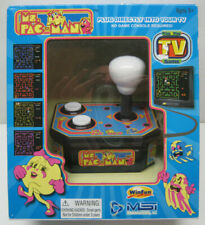 Ms. Pacman Gaming System Plug & Play By MSI Entertainment New Sealed