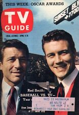 1959 TV Guide April 4 - Hugh Downs; Efrem Zimbalist Jr; Cimarron City; Tombstone