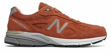 New Masculino Balance 990V4 Made In Eua sapatos Laranja