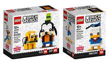 LEGO® BrickHeadz 40378 Goofy & Pluto & 40377 Donald Duck - NEU/OVP(l.Lagersp.)