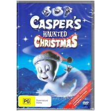 DVD CASPER'S HAUNTED CHRISTMAS MOVIE Animation Comedy Family PG R4 [BNS]